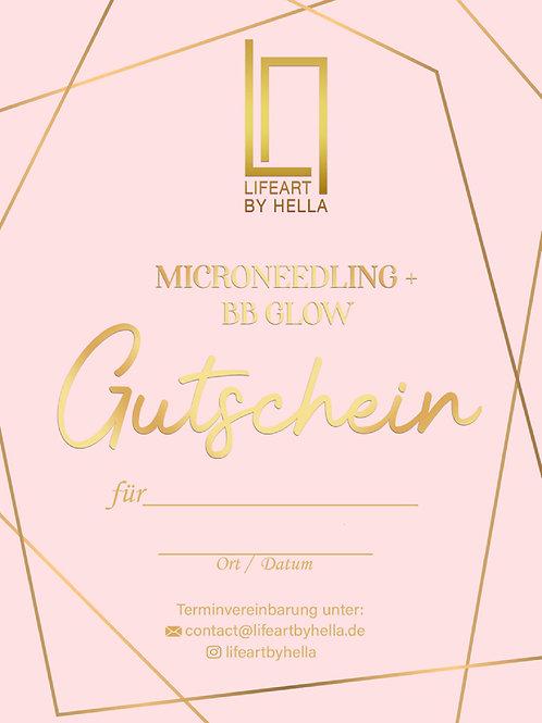 Microneedling + BBGlow Gutschein