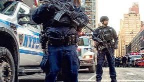 紐約時代廣場鄰近地區發生土製炸彈襲擊