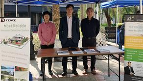 Crime Prevention Exhibition in a Luxury Housing Estate in Tai Po