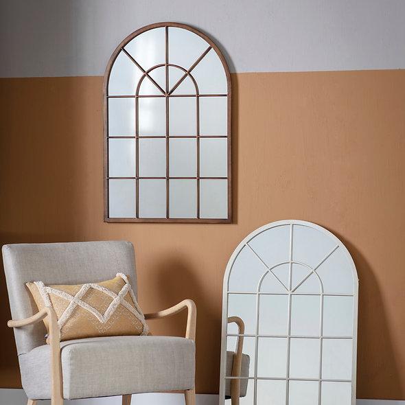Bronze Arched Mirror