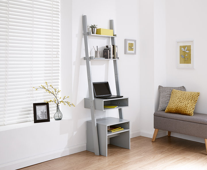 Ladder Desk with stool