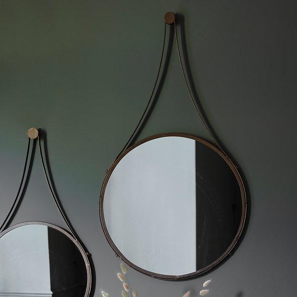 Bronze Hanging Mirror