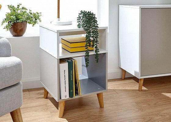 Tonal Lamp Table