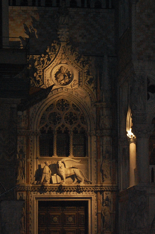 St. Mark's Basilica at Night