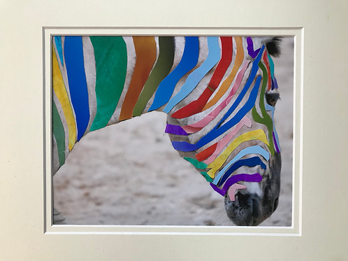"Warhol Esque ""Grevy's Zebra"" 1983/2019"