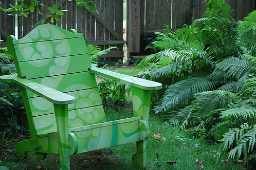 Painted Fern Chair