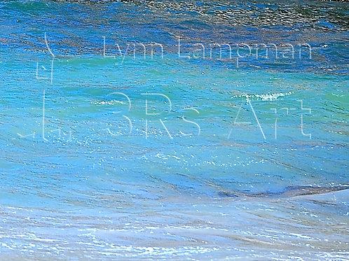 Ocean Photo Painting