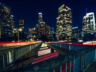 Blue Hour - Downtown L.A.