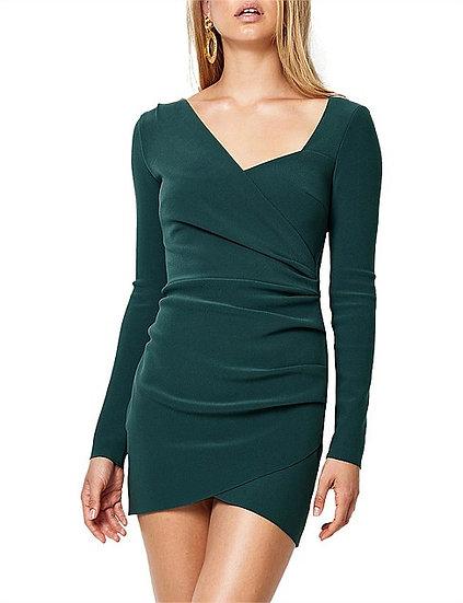 Bec & Bridge Tasha Long Sleeve Mini Dress