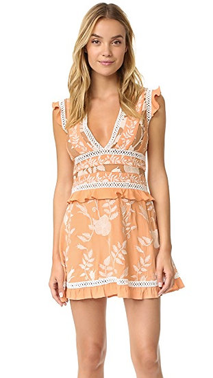 For Love and Lemons Mia Panelled Dress