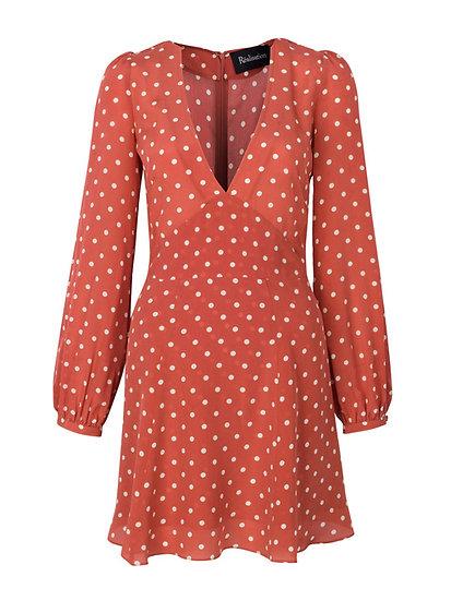 Realisation Par Kate Rust Spot Dress