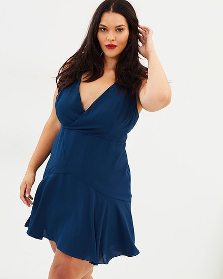 CS Curvy Scenic Romance Mini Dress