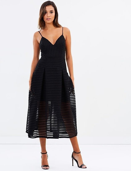 Shona Joy Pleated Pegasus Dress