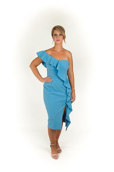 Rebecca Vallance Montecarlo Strapless Midi Dress