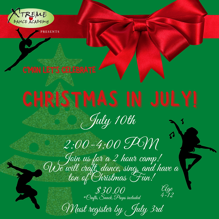 Christmas In July Camp