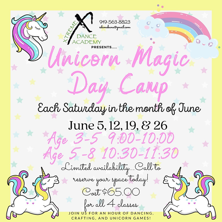 Unicorn Magic Day Camp