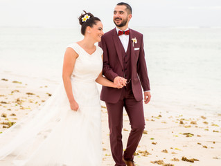 WEDDING SHOOT | JULIEN + MARJORIE | MAURITIUS