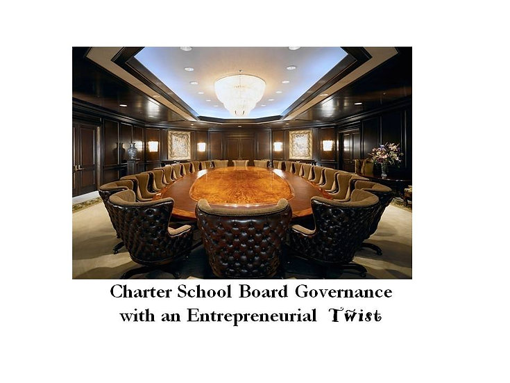 Online Charter School Board Governance  - 4 hour