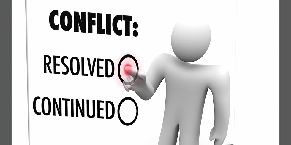 Conflict Resolution (Managers and Supervisors only) - Morning