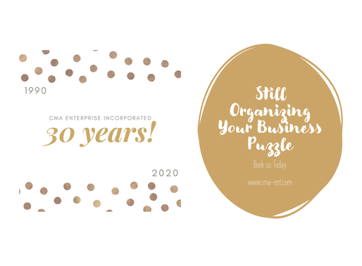 Celebrating 30 Years of Organizing the Business Puzzle of Business and Industry