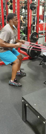 Power Band Rows