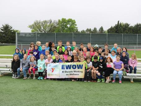 EWOW program concludes with Kansas Kids Fitness Day
