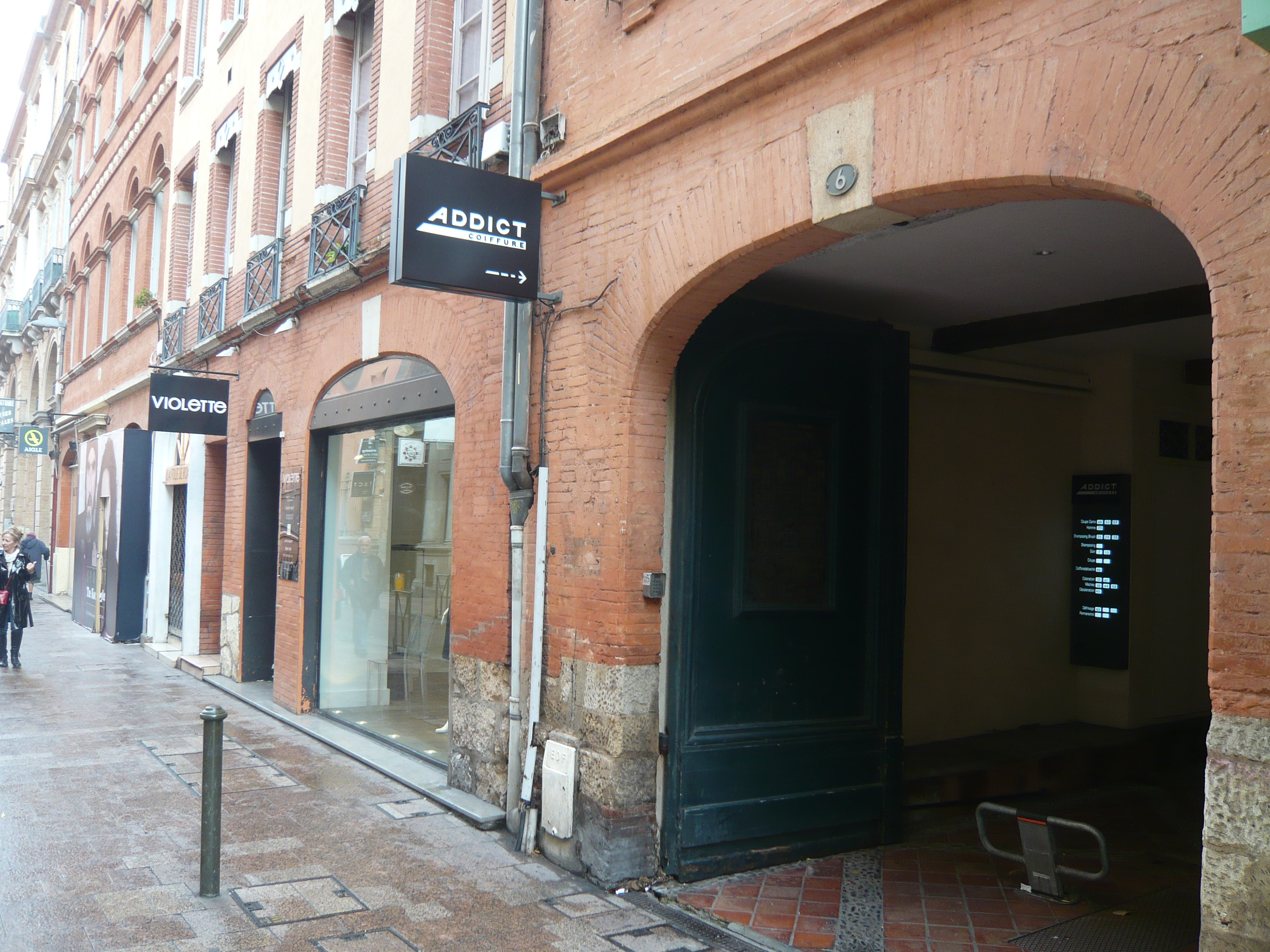 Salon Addict Coiffure Toulouse