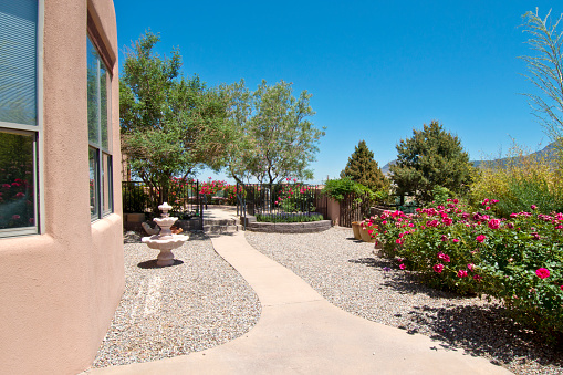 Flagstone Path Santa Fe