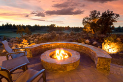 Sunset Fire Pit ABQ