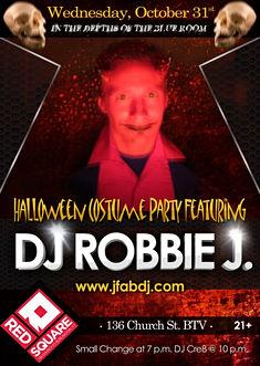 DJ Robbie J Halloween