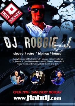 DJ Robbie J Flyer
