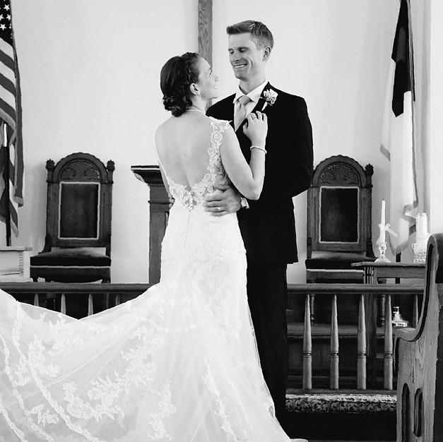 Patrick & Maria Black & White