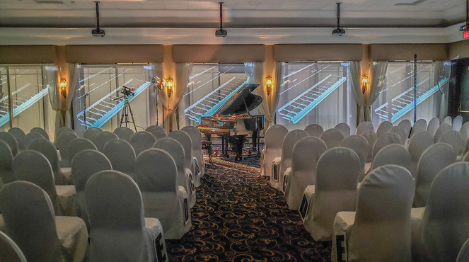 Multiscreen Projection of Piano