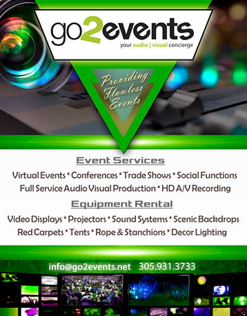 Go2Events Flyer