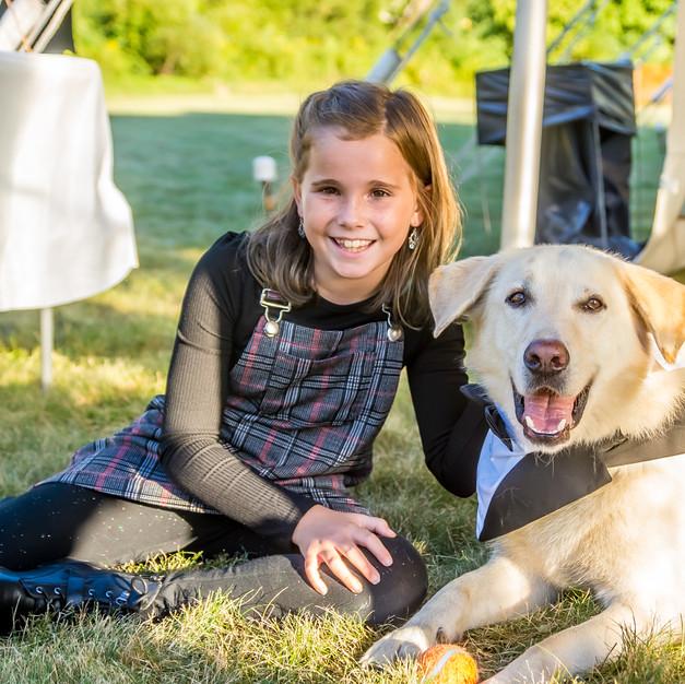 Farrar Wedding - Guest & Doggie