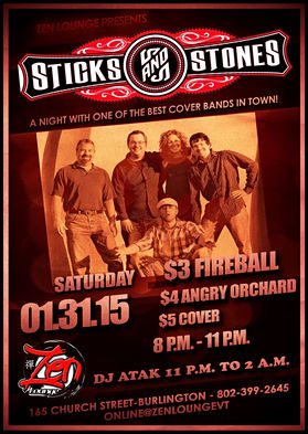 Sticks & Stones Flyer
