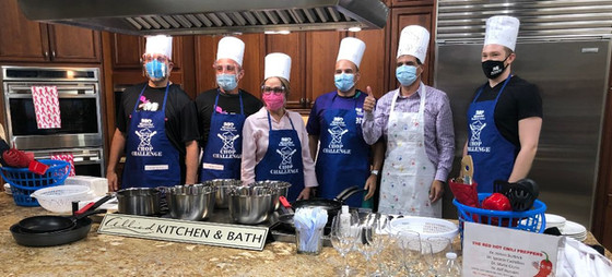 Virtual Chef Competition Via Zoom & Facebook Live