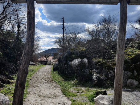 From Rvaši Cottage to Karuč by walk; on a wonderful winter day...