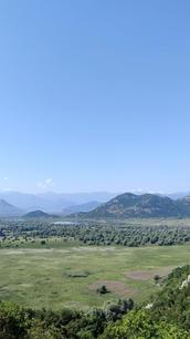Skadar Lake view