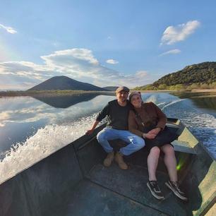 Boat trip at Skadar Lake
