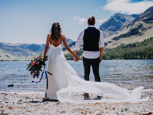 An Eco, Organic, Lake District Elopement, Wedding