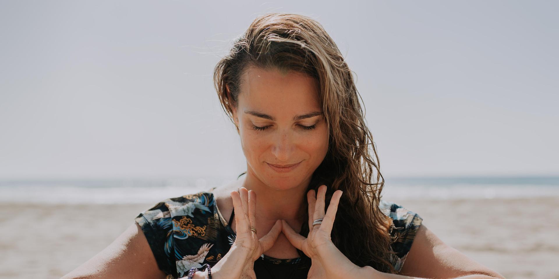 Yoga Brand Shoot on Beach