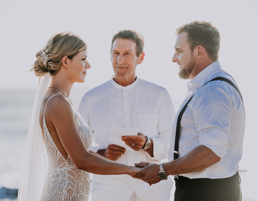 Beach Wedding Ceremony in Tamarindo