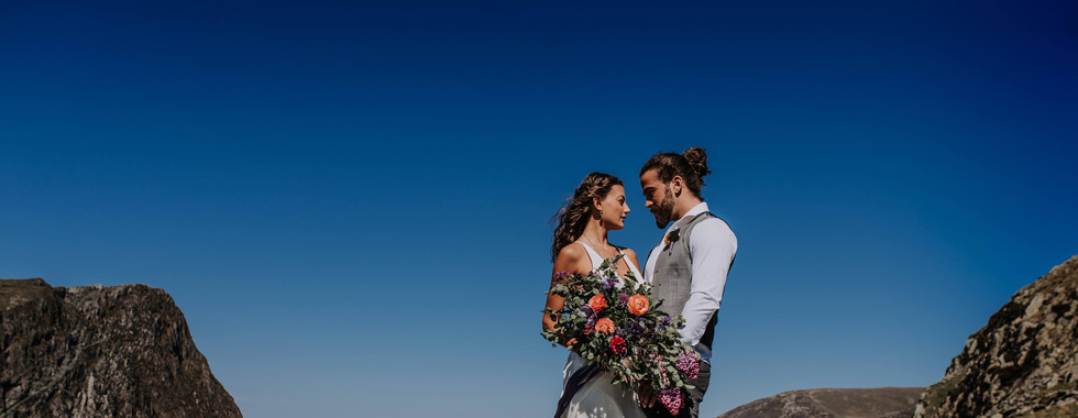 Eco Mountain Wedding in Lake District mo