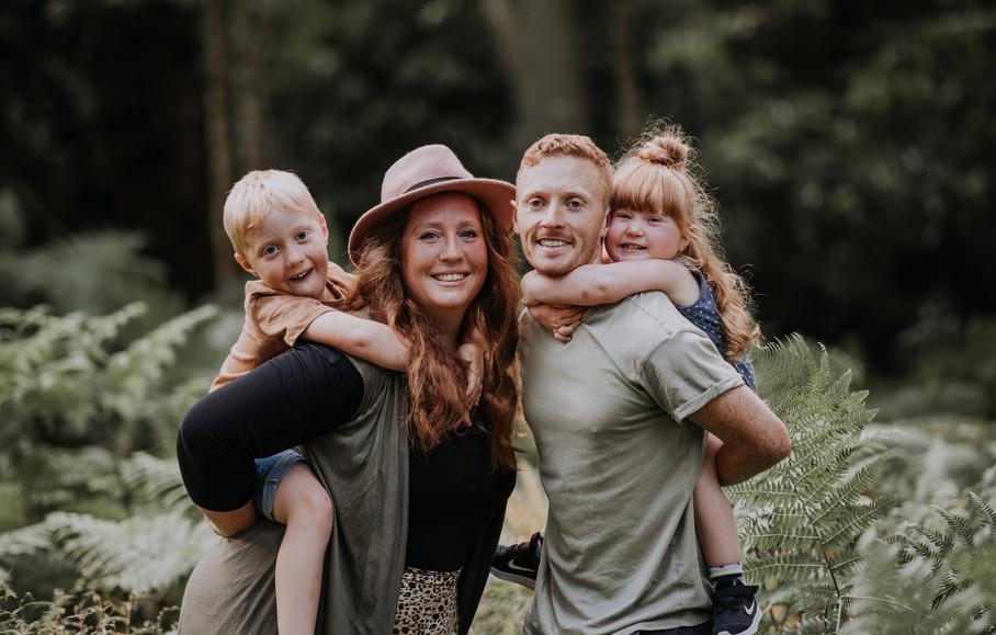 Outdoor Family Photos Cumbria