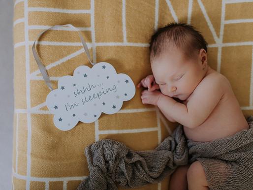 Home Newborn Baby Photo Shoot