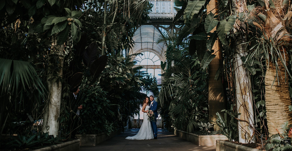 Kew Gardens Eco wedding