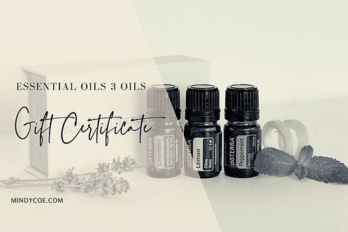 doTERRA Introductory Essential Oils Gift Certificate