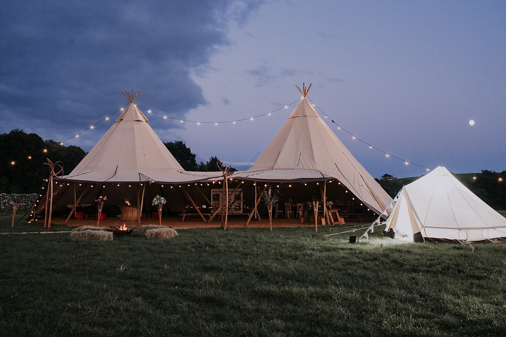 Wedding Tipi in the Lake District