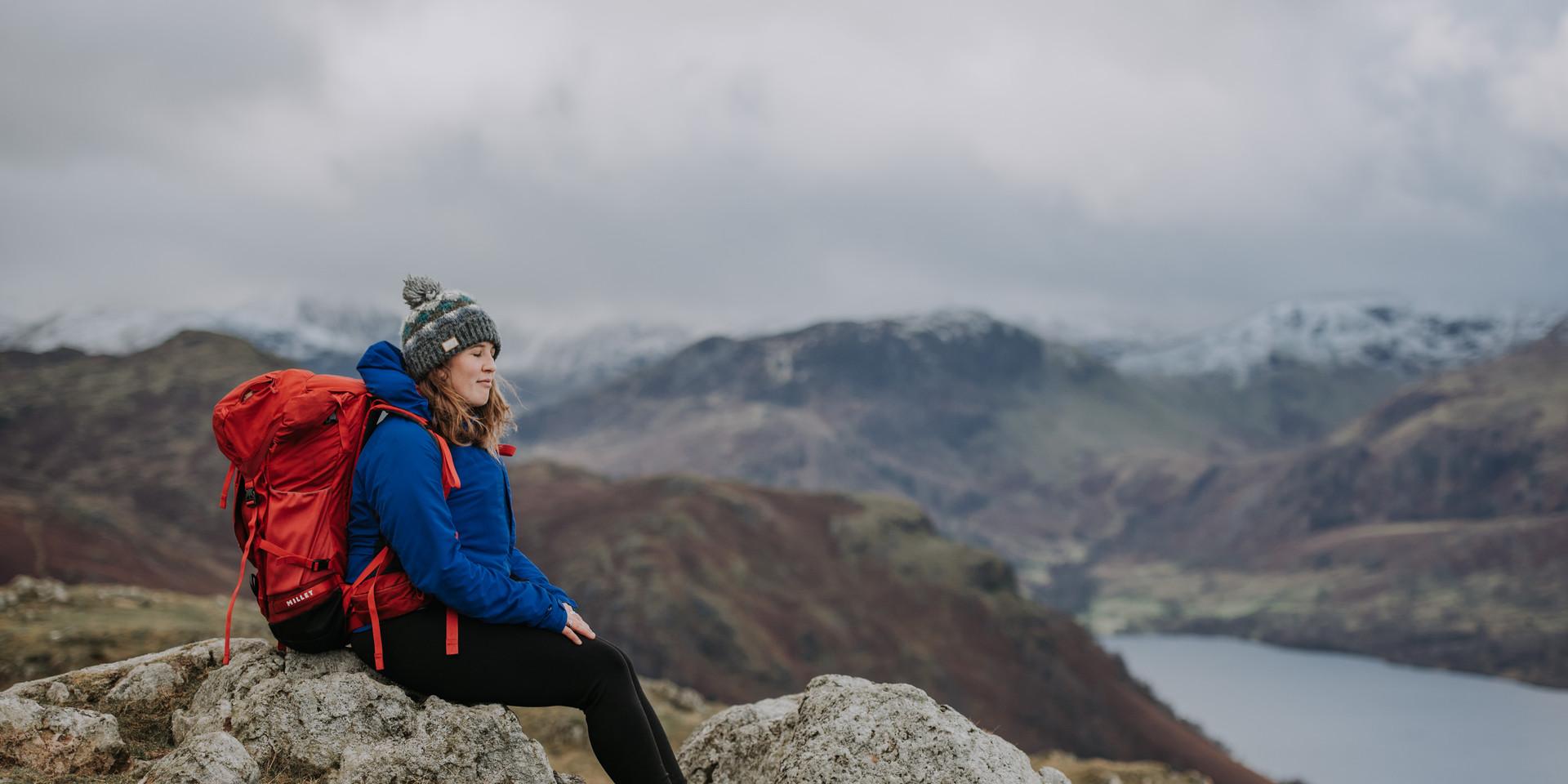 Mountain Guide Lake District Brand Shoot